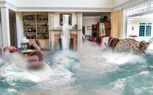 image showing water damage