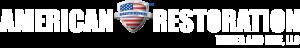 American Restoration White Logo