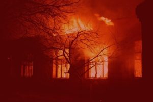 image showing fire damage