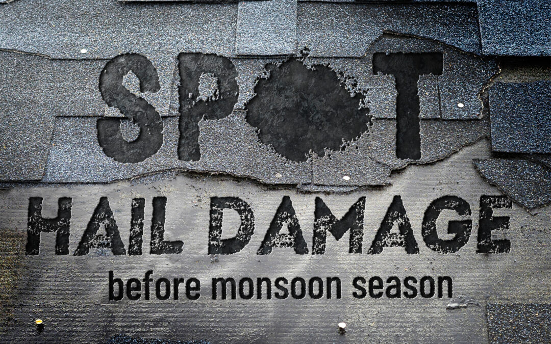 How To Spot Hail Damage On Roof