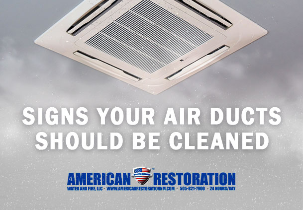Signs Your Air Ducts Should Be Cleaned
