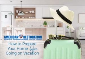 Home Vacation Preperation