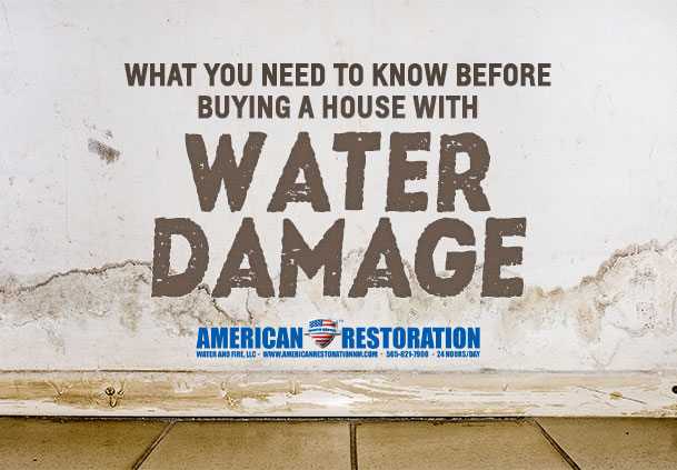 What To Know Before Buying A Home With Water Damage